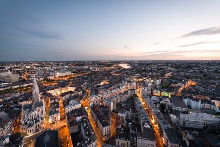 Les prix de l'immobilier nantais et le salaire des Français